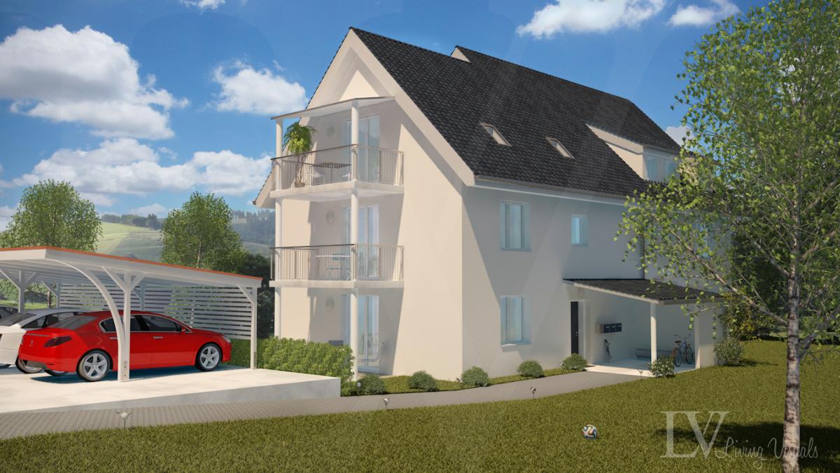 Mehrfamilienhaus in Oberglatt